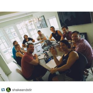 What a ridiculously good looking team!  Repost shakeandstir withhellip